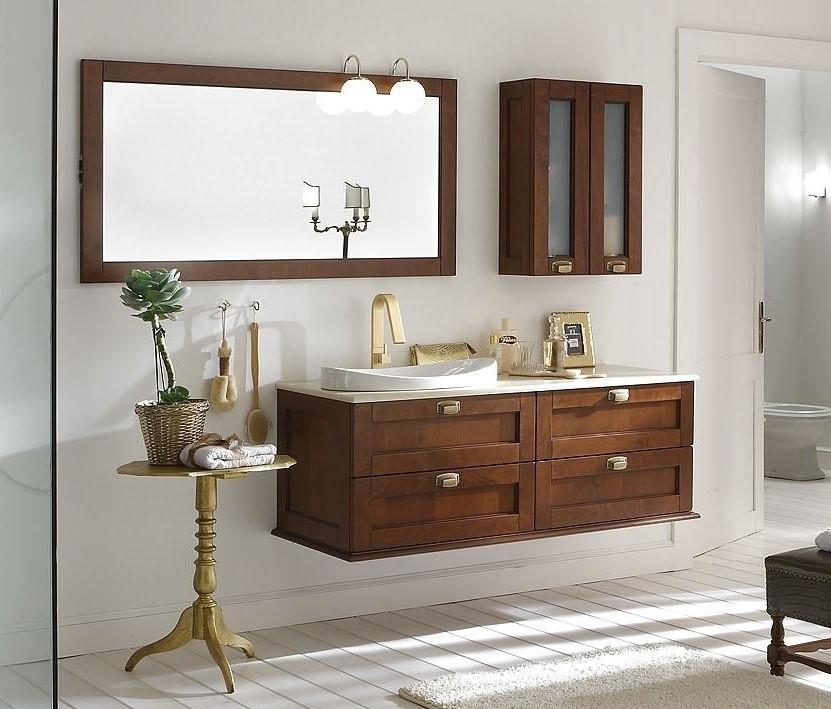 Bagni classici idee e tendenze dal web mobili per arredo - Applique per specchio bagno classico ...