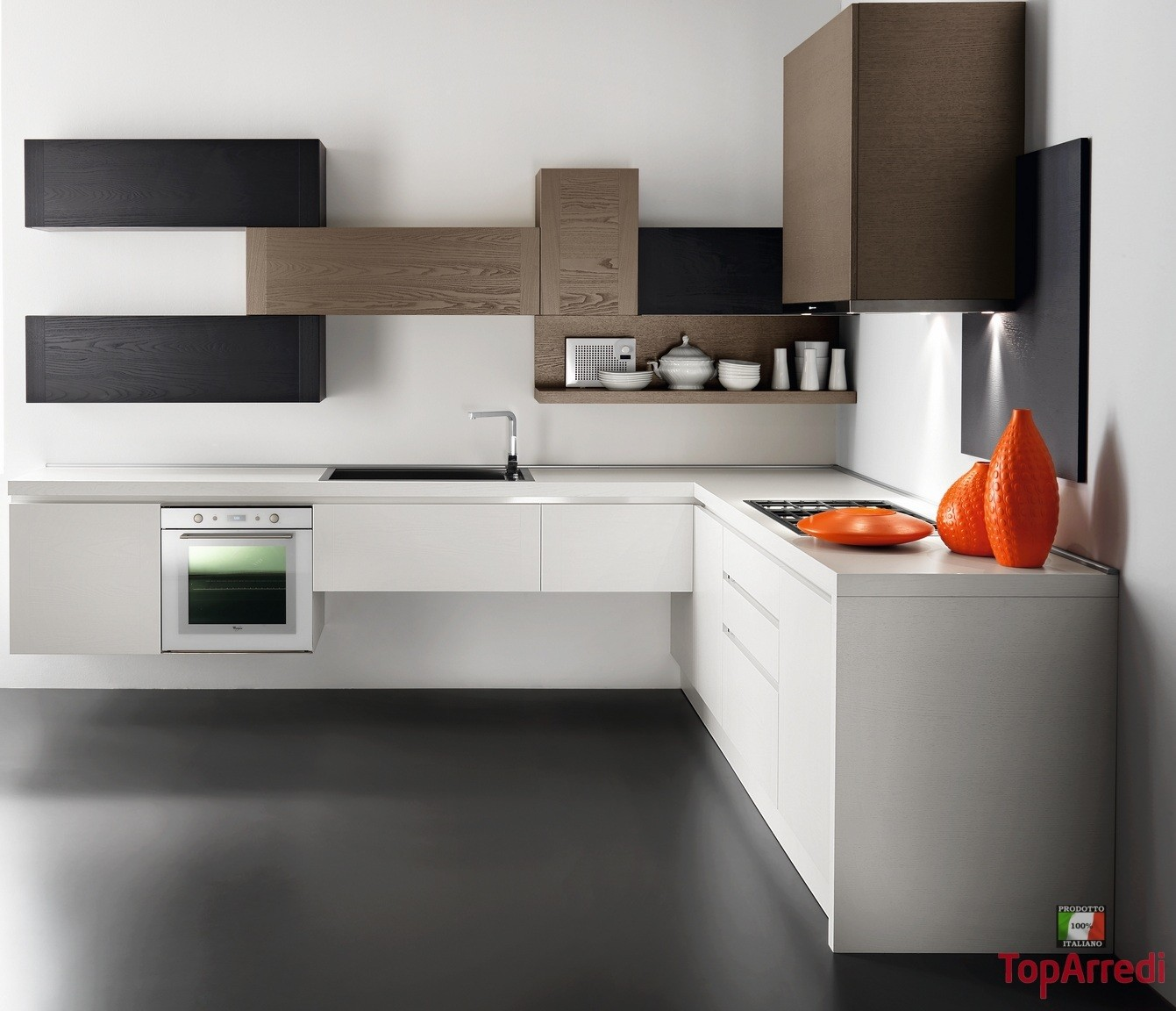 Stunning Cucine Ad Angolo Moderne Piccole Pictures - Ideas ...