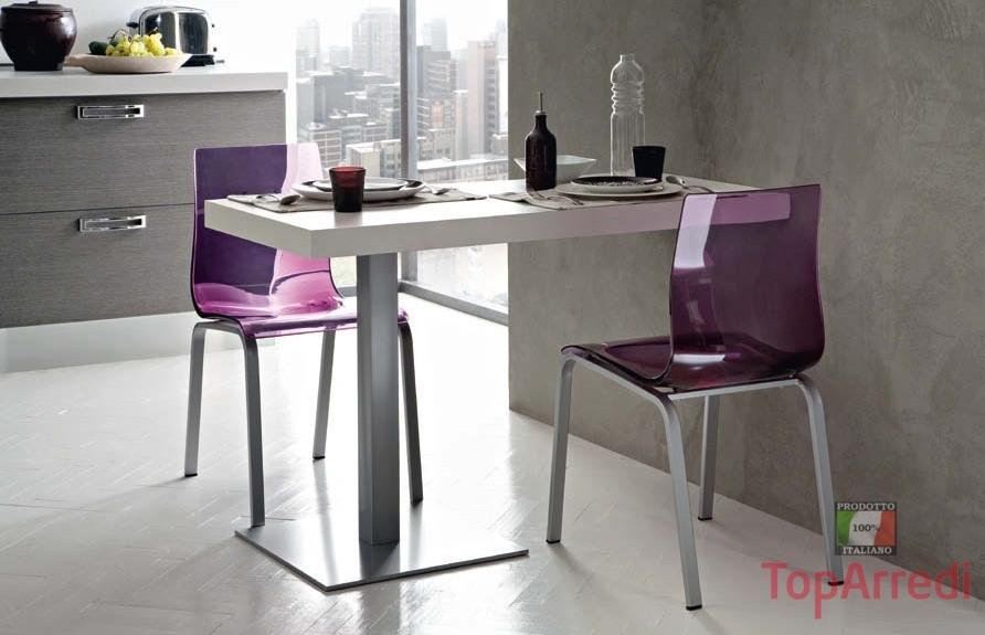 Tavolo moderno snack da bar cucina mobili per arredo for Tavoli per cucina moderni